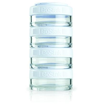 史低价!BlenderBottle GoStak四层食物存储罐