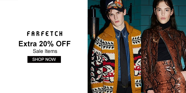 Farfetch: Extra 20% OFF Sale Items