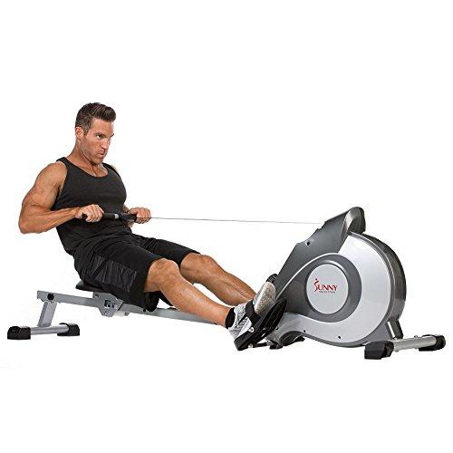仅限今天!Sunny Health & Fitness SF-RW5515 家用磁阻划船机/划艇机