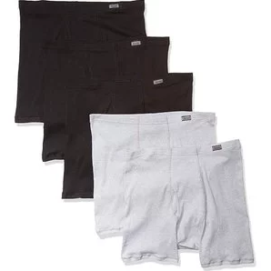 Hanes Men's 5-Pack Comfort Soft Boxer Briefs $9.33