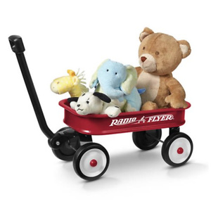"""Radio Flyer, Little Red Toy Wagon (12.5""""), Miniature Wagon, Red"""