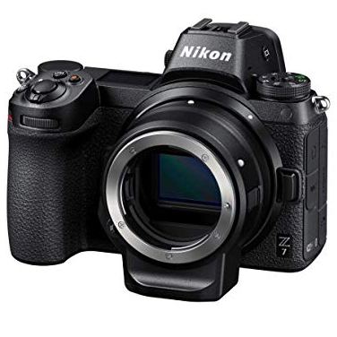 Nikon Z7 FX-Format Mirrorless Camera and 24-70mm f/4 S Kit with Mount Adapter $2,846.90