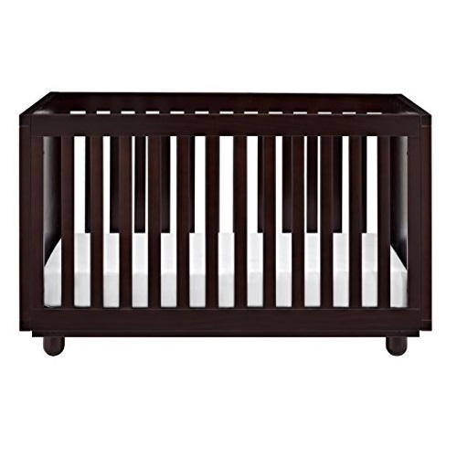 Storkcraft Violet 3-in-1 Convertible Crib, Espresso