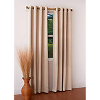 Turner Woven Blackout Grommet Panel Curtain