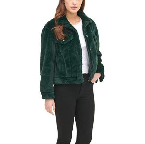 Levi's Women's Faux Fur Classic Trucker Jacket