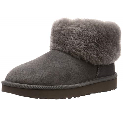 UGG Women's Classic Mini Fluff Ankle Boot