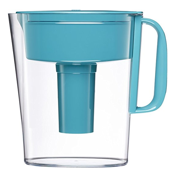Brita Small 5 Cup Metro Water Pitcher with Filter - BPA Free - Turquoise $13.99