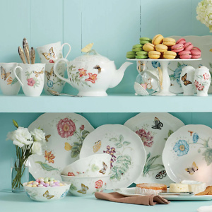 Lenox: Extra 25% OFF Butterfly Meadow