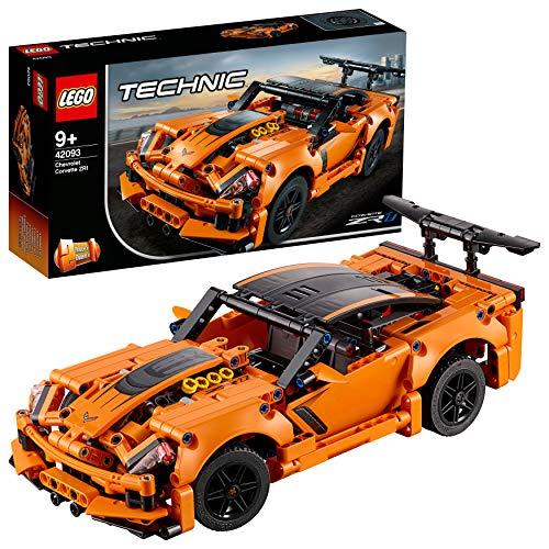 史低价!Lego乐高 Technic机械组 42093雪佛兰超级跑车科尔维特ZR1