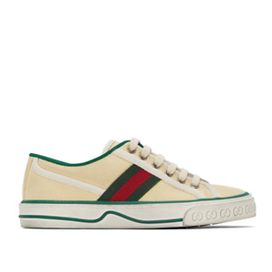 Gucci  Beige Tennis 1977 Sneakers