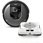 iRobot® Roomba® i7 Robot Vacuum & Braava jet® m6 Robot Mop Bundle