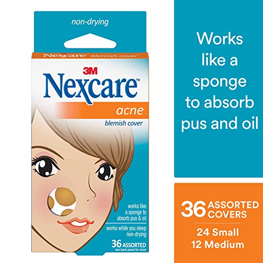 Nexcare Acne Cover, Drug-Free, Gentle, Breathable Cover, 36 Count