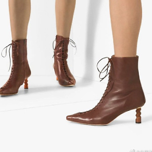 REJINA PYO Simone 60mm lace-up ankle boots
