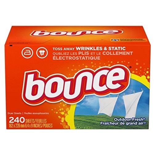 Bounce 柔顺烘干纸,240张