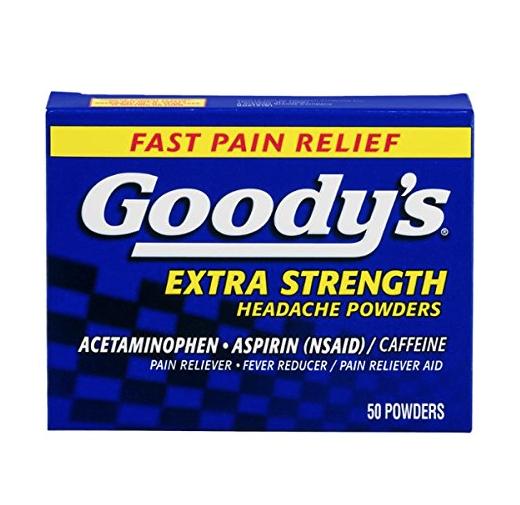 Goody's 强力头疼散,50包