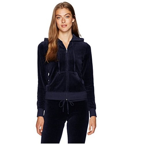 Juicy Couture Black Label Women's Velour Robertson Jacket
