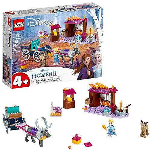 史低价!Lego乐高 Disney Frozen冰雪奇缘II 系列41166艾莎的马车大冒险