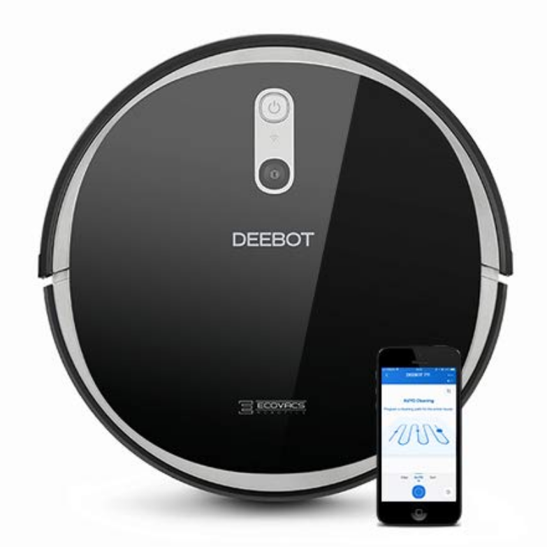 ECOVACS DEEBOT 711 Robot Vacuum Cleaner with Smart Navi 2.0, Systematic Mapping Cleaning, Wi-Fi Connectivity, Ideal for Pet Hair, Carpets Compatible with Alexa $299.99,free shipping