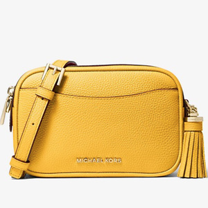 MICHAEL MICHAEL KORS Pebbled Leather Convertible Belt Bag