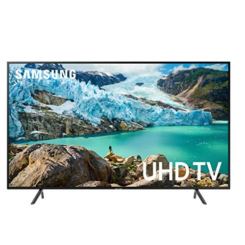 Samsung UN55RU7100FXZA Flat 55-Inch 4K UHD 7 Series Ultra HD Smart TV with HDR and Alexa Compatibility (2019 Model) $399.99