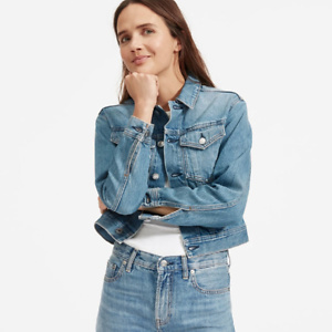 The Cropped Denim Jacket