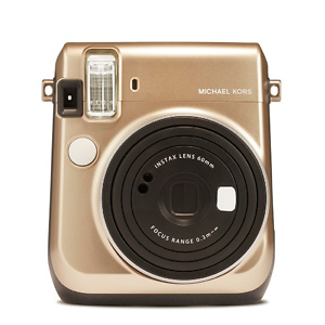 INSTAX MINI BY FUJIFILM Instax Michael Kors Mini 70 Gold Camera