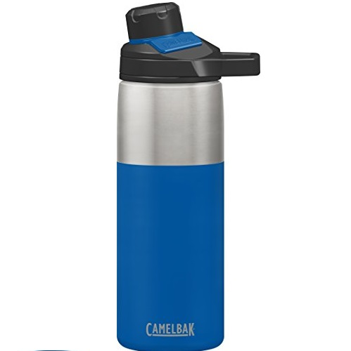 CamelBak Chute Mag Stainless Water Bottle, 20oz, Cobalt