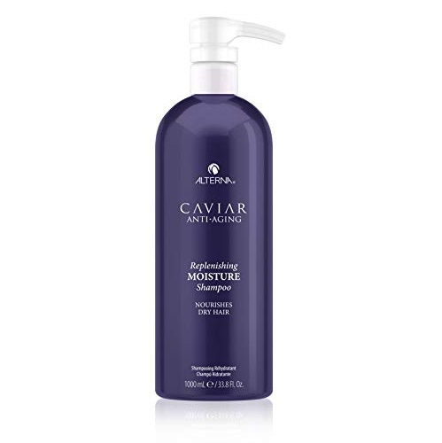 CAVIAR Anti Aging Replenishing Moisture Shampoo, 33.8 Ounce (Packaging May Vary)