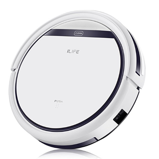 ILIFE V3s Pro Robotic Vacuum, Newer Version of V3s, Pet Hair Care, Powerful Suction Tangle-free, Slim Design, Auto Charge, Daily Planning, $118.99a