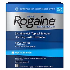 Rogaine 落健生发剂3个月用量