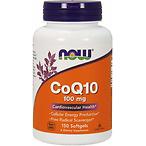 NOW CoQ10 100 mg 辅酶软胶囊 150粒