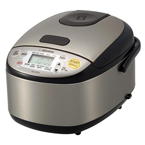 Zojirushi 象印NS-LGC05XB 不锈钢 微电脑保温电饭煲,3杯米量