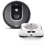 iRobot® Roomba® 960 Robot Vacuum & Braava jet® m6 Robot Mop Bundle