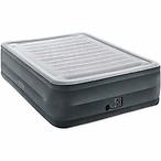Intex舒适充气床垫,内置气泵,Queen size