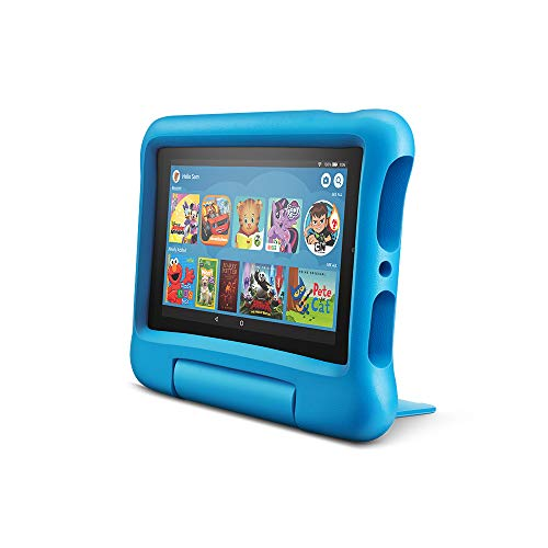 "All-New Fire 7 Kids Edition Tablet, 7"" Display, 16 GB, Blue Kid-Proof Case $59.99"