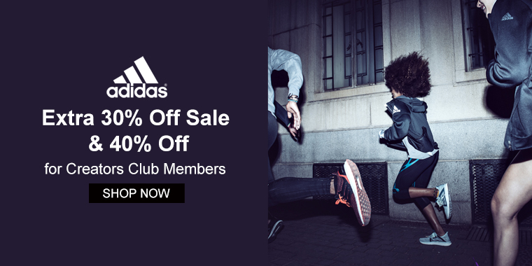 Adidas: Extra 30% Off Sale & 40% Off for Creators Club Members