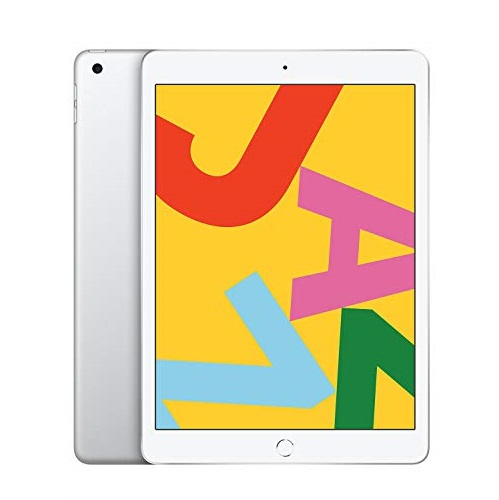 New Apple iPad (10.2-inch, Wi-Fi, 128GB) - Silver (Latest Model)