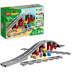 LEGO乐高 DUPLO得宝系列 10872火车桥梁与轨道