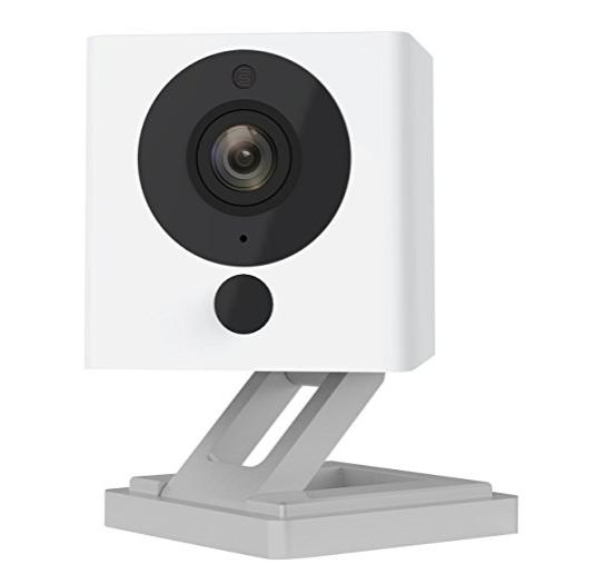 Wyze Labs 1080p HD Wireless Smart Home Camera with Night Vision, 2-Way Audio, White (WYZEC2)