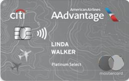 花旗银行与美国航空联名白金卡