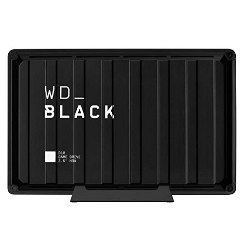 WD Black 8TB D10 Game Drive Desktop External Hard Drive Compatible with PS4 Xbox One PC and Mac 7200 RPM WDBA3P0080HBKNESN