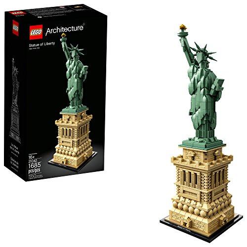 史低价!LEGO乐高 Architecture 建筑系列 21042自由女神像
