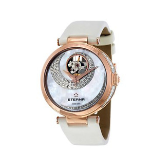 ETERNA Grace Open Art Mother of Pearl Diamond Dial Ladies Watch