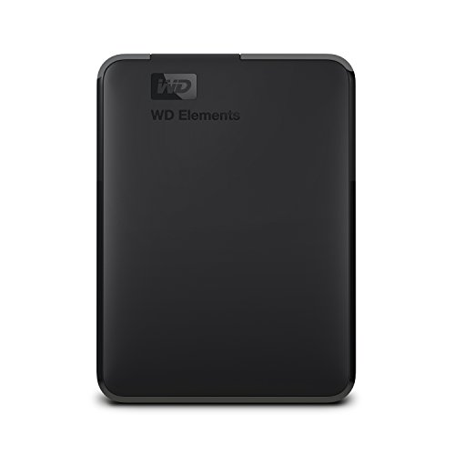 WD 5TB Elements Portable External Hard Drive, USB 3.0 - WDBU6Y0050BBK-WESN $98.10