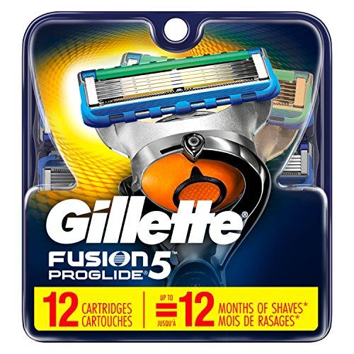 Gillette吉列 Fusion5 ProGlide 锋隐超顺电动剃须刀刀片,12个装