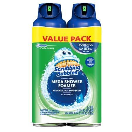 史低价!Scrubbing Bubbles 卫生间清洁泡沫,20oz/罐,共2罐