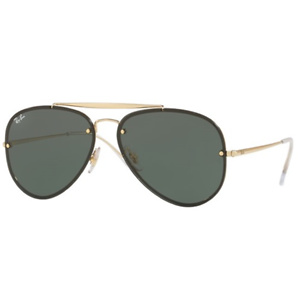 Ray-Ban Men's RB3581N Blaze Shooter Aviator Sunglasses