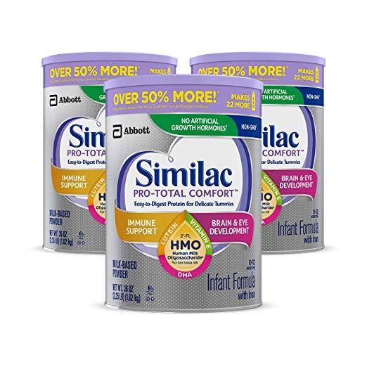 Similac 雅培 一 段奶粉,36 oz/罐,共3罐