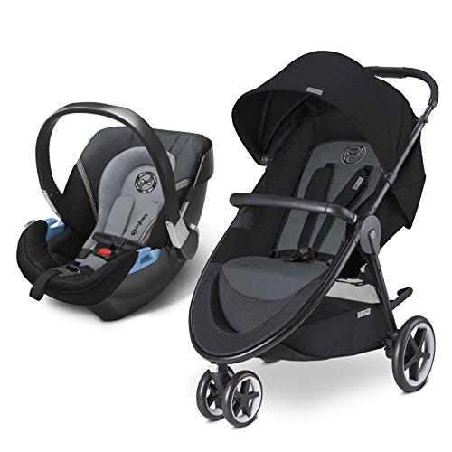 史低价! CYBEX Agis M-Air 3合1旅行套装,童车+汽车安全座椅