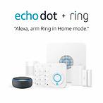Ring 家庭安保系统5件套+Echo Dot第三代,支持Alexa
